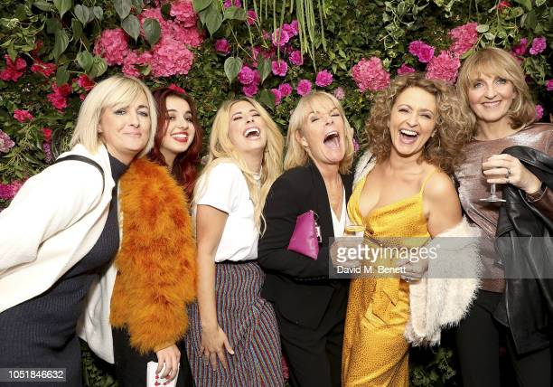 Jane Moore Maddie Sawalha Stacey Soloman Linda Robson Nadia Sawalha and Kaye Adams attend the VIP Party with Stacey Solomon as she celebrates the...