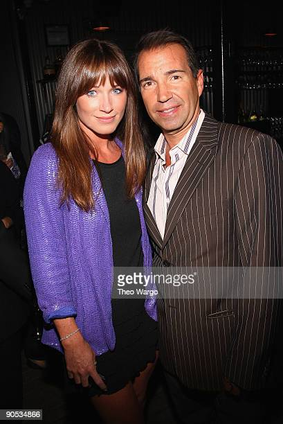 Jane Notar and Richie Notar attend the JCPenney launch party for Cindy Crawford Style at Soho House on September 9 2009 in New York City