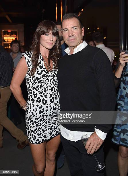 Jane Notar and Richie Notar of Notar Hospitality attend DuJour Magazine's Jason Binn and Furla celebration of Katie Holmes presented by InList on...