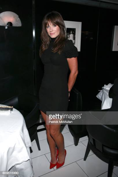 Jane Notar attends Le Caprice Preview Dinner at Le Caprice on October 21 2009 in New York City
