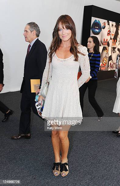 Jane Notar is seen around Lincoln Center during Spring 2012 MercedesBenz Fashion Week on September 14 2011 in New York City