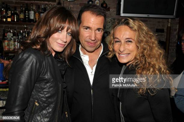 Jane Notar Richie Notar and Ann Dexter Jones attend Birthday Bash for RICHARD JOHNSON and JASON BINN at Da Silvano Bistecca on January 19 2009 in New...