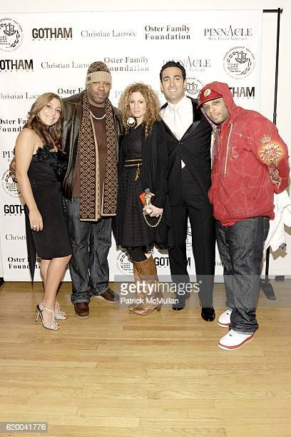 Jane Oster Busta Rhymes Miri BenAri Josh Dardashtian and Spliff Star attend FRIENDS OF ISRAEL DEFENCE FORCES CASINO NIGHT at The Metropolitan...