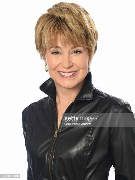 Jane Pauley anchor of CBS Sunday Morning which is broadcast on the CBS Television Network