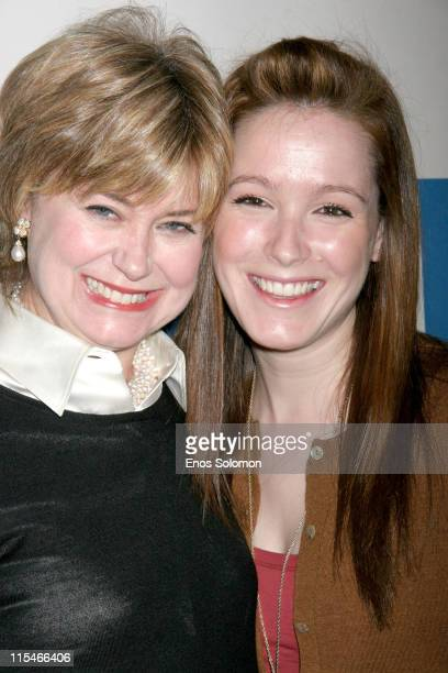 Jane Pauley and daughter Rickie Trudeau during She Made It Women Creating Television and Radio at Museum of Television and Radio in Beverly Hills CA...