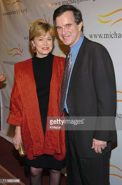 Jane Pauley and Garry Trudeau during A Funny Thing Happened on the Way to Cure Parkinson's A Benefit Evening for the Michael J Fox Foundation for...