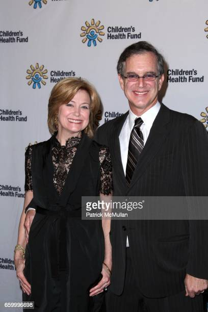 Jane Pauley and Gary Trudeau attend CHILDREN'S HEALTH FUND Holds Benefit to Raise Urgently Needed Funds for Kids at Sheraton New York Hotels and...