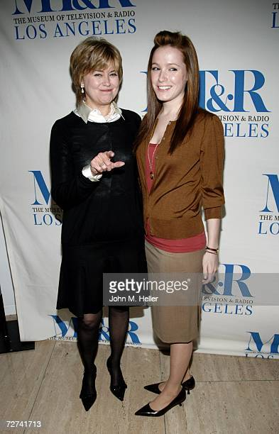 Jane Pauley and her daughter Rickie Trudeau attend She Made It Women Creating Television and Radio presented by The Museum of Television Radio at the...