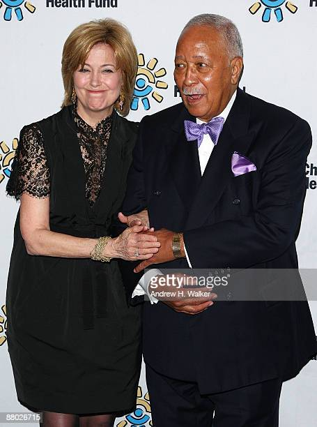 Jane Pauley and Honorable David Dinkins attend the Children's Health Fund benefit at Sheraton New York Hotel Towers on May 27 2009 in New York City