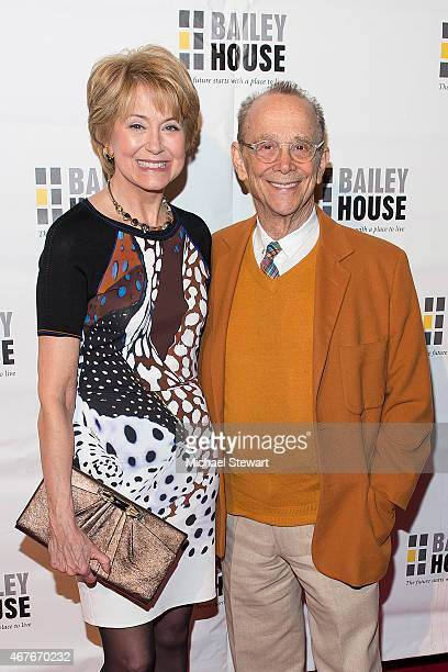 Jane Pauley and Joel Grey attend the Bailey House Gala Auction 2015 at Pier 60 on March 26 2015 in New York City