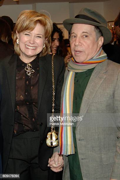 Jane Pauley and Paul Simon attend The CHILDREN'S HEALTH FUND Art of Helping Kids Party at Edun Fine Art on January 25 2007 in New York City