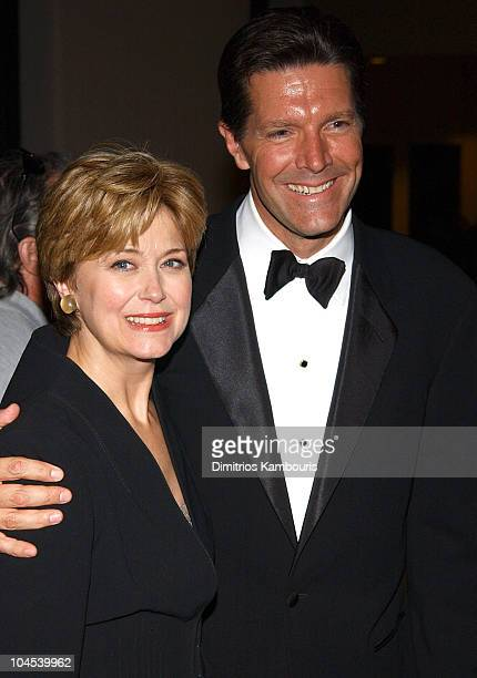 Jane Pauley and Stone Philips during 23rd Annual News and Documentary Emmy Awards at Mariott Marquis Hotel in New York City New York United States