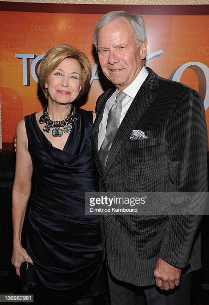 Jane Pauley and Tom Brokaw attend the TODAY Show 60th anniversary celebration at The Edison Ballroom on January 12 2012 in New York City