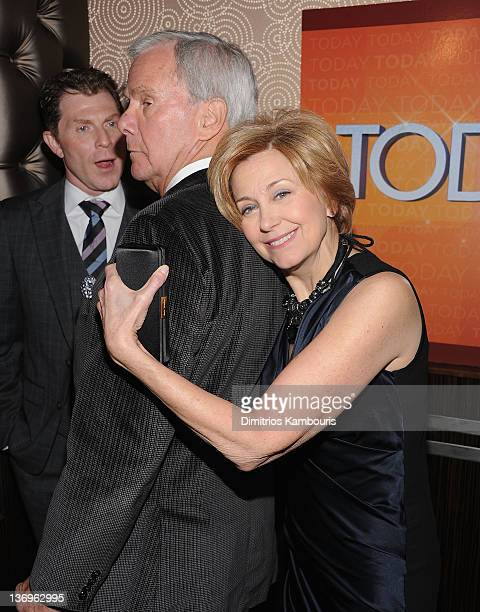 Jane Pauley and Tom Brokaw attend the 'TODAY' Show 60th anniversary celebration at The Edison Ballroom on January 12 2012 in New York City