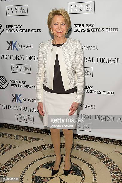 Jane Pauley attends the 2015 Kips Bay Boys And Girls Club's President's Dinner at Cipriani 42nd Street on April 1 2015 in New York City
