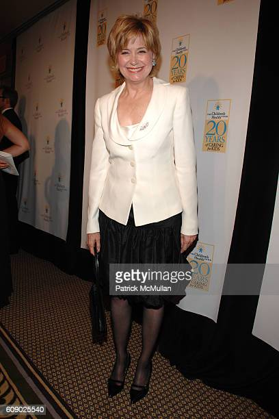 Jane Pauley attends THE CHILDREN'S HEALTH FUND 20th Anniversary Gala at The Hilton on May 30 2007 in New York City