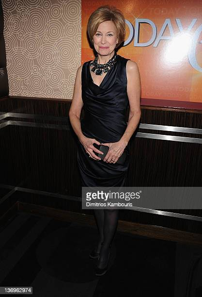 Jane Pauley attends the 'TODAY' Show 60th anniversary celebration at The Edison Ballroom on January 12 2012 in New York City