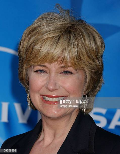 Jane Pauley during 2004 NBC All Star Party Arrivals at Universal Studios in Universal City California United States
