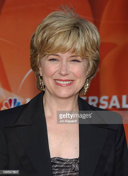 Jane Pauley during 2004 NBC AllStar Party at Universal Studios Hollywood in Universal City California United States