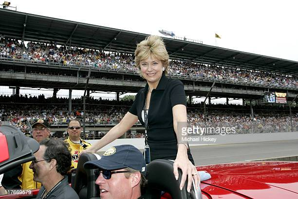 Jane Pauley during 88th Indianapolis 500 Celebrity Parade at Indianapolis Motor Speedway in Indianapolis Indiana United States