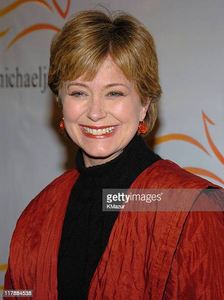 Jane Pauley during A Funny Thing Happened on the Way to Cure Parkinson's A Benefit Evening for the Michael J Fox Foundation for Parkinson's Research...