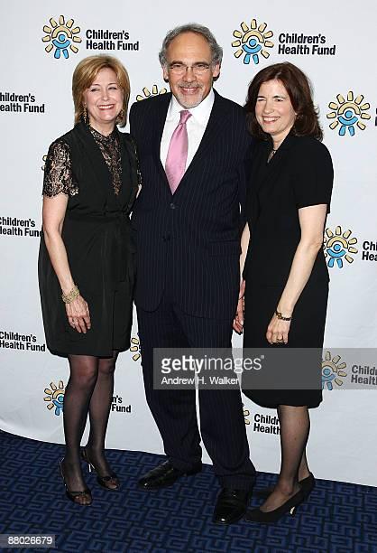 Jane Pauley Irwin Redlener and Karen Redlener attend the Children's Health Fund benefit at Sheraton New York Hotel Towers on May 27 2009 in New York...