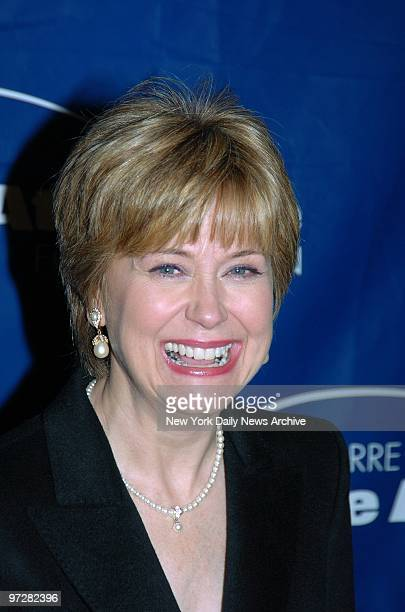 Jane Pauley is on hand for the Joe Torre Safe at Home Foundation's second annual gala at the Pierre Hotel on Fifth Ave The event raised money for the...