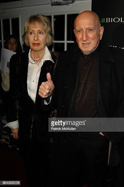 Jane Pittson and Dominic Chianese attend Academy Awards viewing party at Elaine's at Elaine's NYC USA on March 5 2006