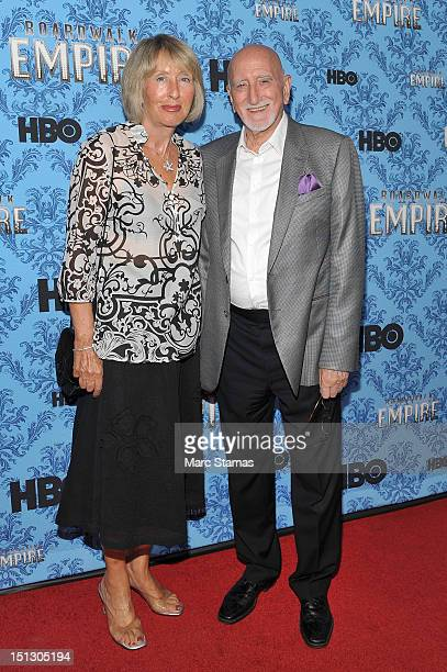 Jane Pittson and Dominic Chianese attend HBO's Boardwalk Empire Season Three New York Premiere at Ziegfeld Theater on September 5 2012 in New York...