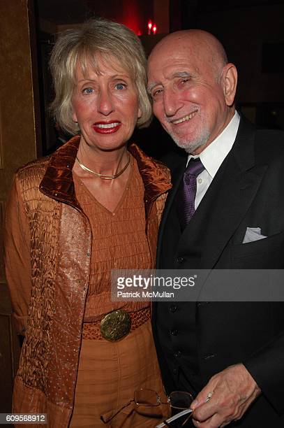Jane Pittson and Dominic Chianese attend VAN CLEEF ARPELS hosts UNE JOURNEE A PARIS at Hammerstein Ballroom on September 4 2007 in New York City