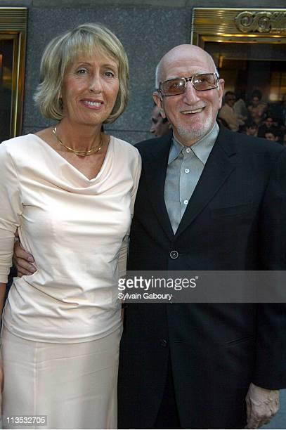 Jane Pittson Dominic Chianese during The Sopranos Premiere at Radio City Music Hall in New York New York United States