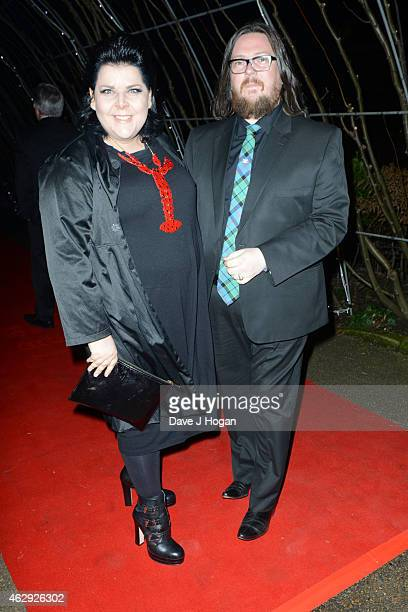Jane Pollard and Iain Forsyth attend the EE British Academy Awards nominees party at Kensington Palace on February 7 2015 in London England