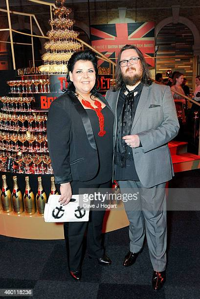 Jane Pollard and Iain Forsyth attend the Moet British Independent Film Awards 2014 at Old Billingsgate Market on December 7 2014 in London England