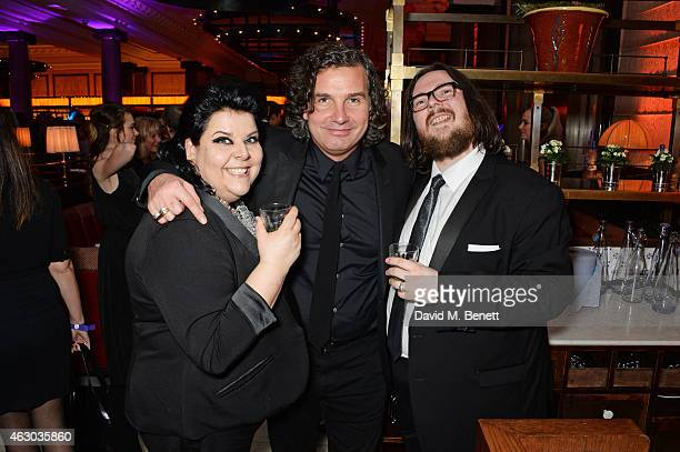 Jane Pollard Ant Genn and Iain Forsyth attend The Weinstein Company Entertainment Film Distributor StudioCanal 2015 BAFTA After Party in partnership...