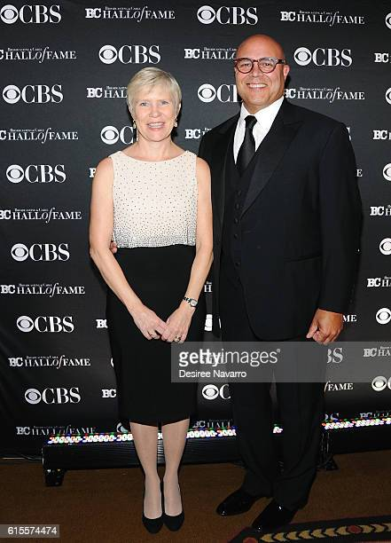 Jane Powell and President CEO of NCTA Michael Powell attend the 2016 Broadcasting Cable Hall of Fame 26th Anniversary Gala at The Waldorf Astoria on...