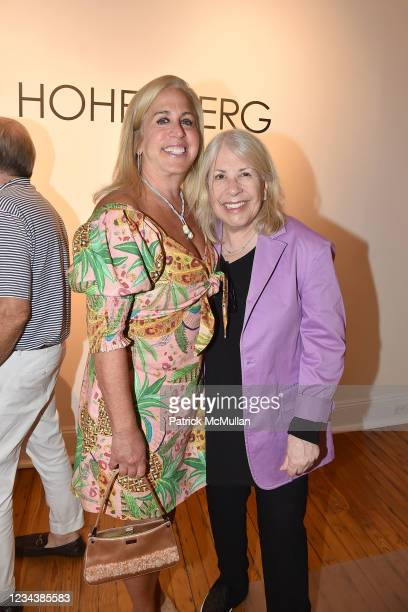 """Jane Recant and Barbara Gibbs attend the release of Christophe von Hohenberg's new book """"The White Album of The Hamptons"""" and Bruce Helander's..."""