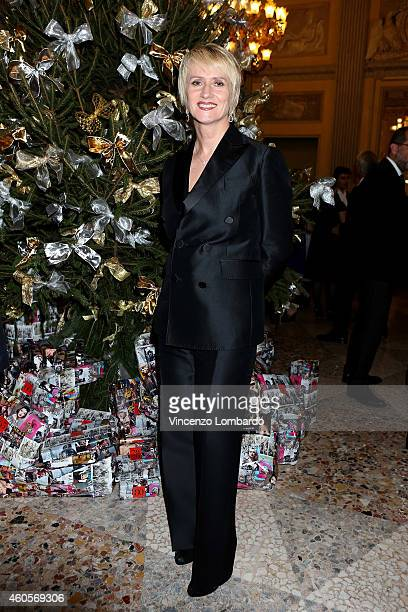 Jane Reeve attends the Fondazione IEO CCM Christmas Dinner For on December 16 2014 in Monza Italy