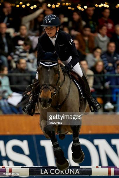 Jane Richard Philips attends during CSI Casas Novas Horse Jumping Competition on December 10 2017 in A Coruna Spain