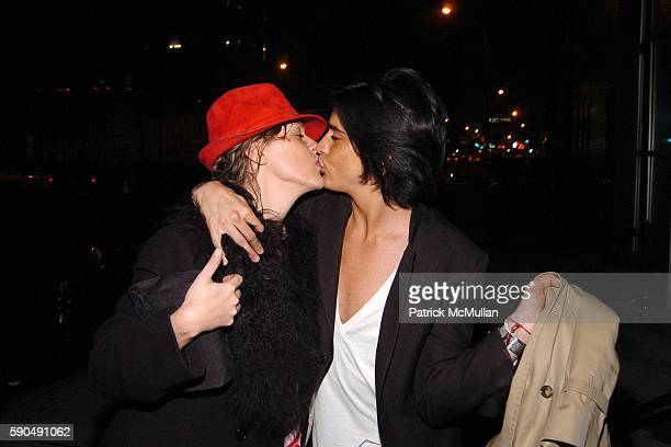 Jane Risien and Manuel Norena attend Ford Models' Supermodel of the World Contest at The Ford Tunnel on January 12 2005 in New York