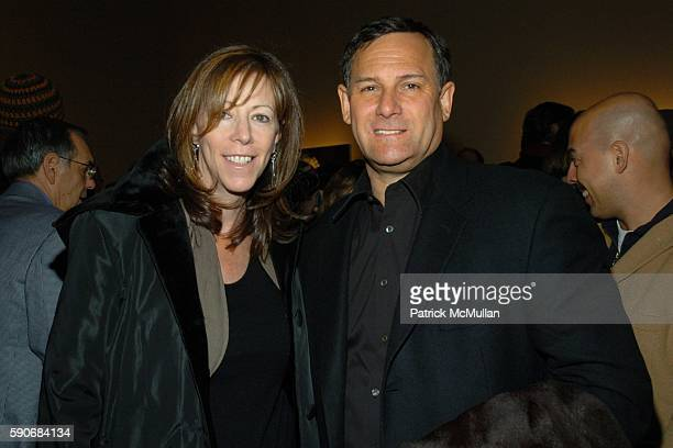 Jane Rosenthal and Craig Hatkoff attend Eric Fischl Art Opening at Mary Boone Gallery on March 5, 2005 in New York City.