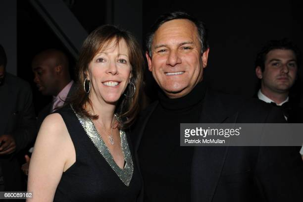 Jane Rosenthal and Craig Hatkoff attend THE HUFFINGTON POST PreInaugural Ball at The Newseum on January 19 2009 in Washington DC