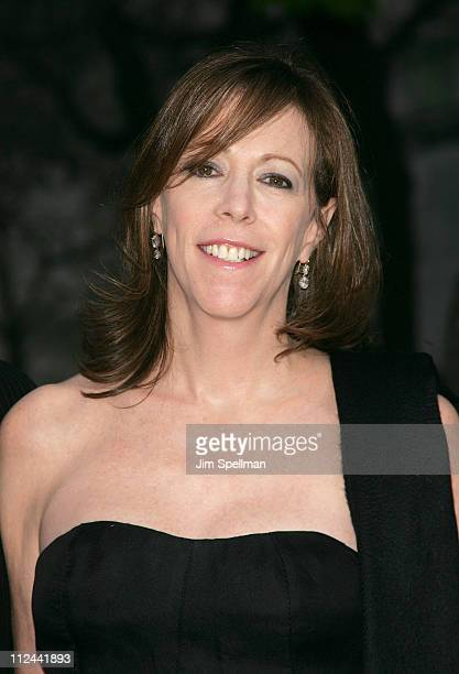 Jane Rosenthal arrives at the 7th Annual Tribeca Film Festival Vanity Fair Party at the State Supreme Courthouse on April 22 2008 in New York City...