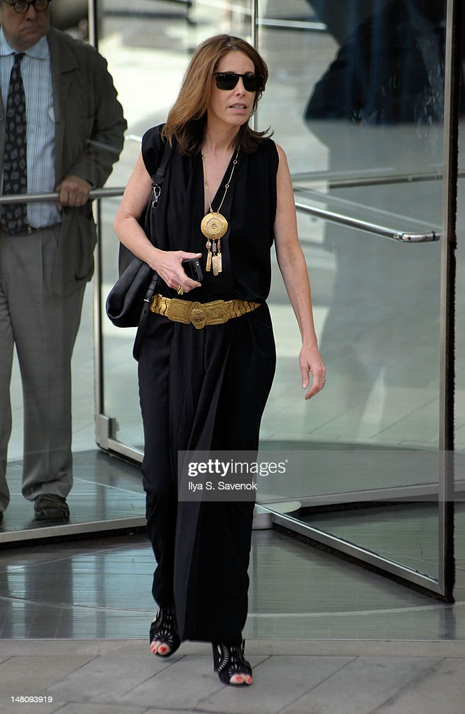Jane Rosenthal attends the Nora Ephron Memorial Service on July 9, 2012 in New York City.