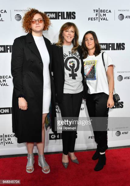 Jane Rosenthal attends the opening night gala of 'Love Gilda' during the 2018 Tribeca Film Festival at Beacon Theatre on April 18 2018 in New York...