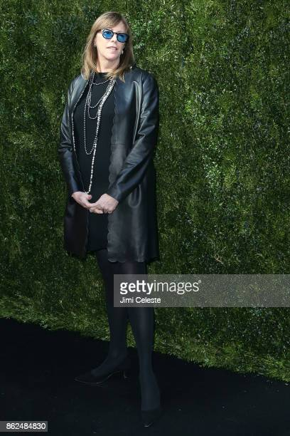 Jane Rosenthal attends Through Her Lens The Tribeca Chanel Women's Filmmaker Program Luncheon at Locanda Verde on October 17 2017 in New York City