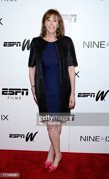 Jane Rosenthal attends Venus Vs and Coach New York Special Screenings at Paley Center For Media on June 24 2013 in New York City