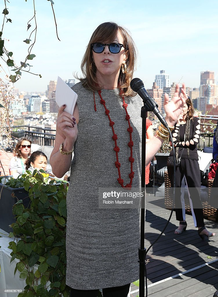 Jane Rosenthal attends Women's Film Brunch at Company 3 on April 21, 2014 in New York City.
