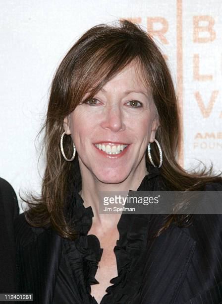 Jane Rosenthal during 6th Annual Tribeca Film Festival Lucky You Premiere Outside Arrivals at BMCC/TPAC in New York New York United States