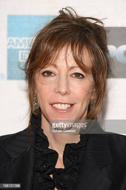 Jane Rosenthal during Tribeca Film Festival Premiere of Warner Bros' Poseidon Arrivals at Tribeca Performing Arts Center in New York New York United...