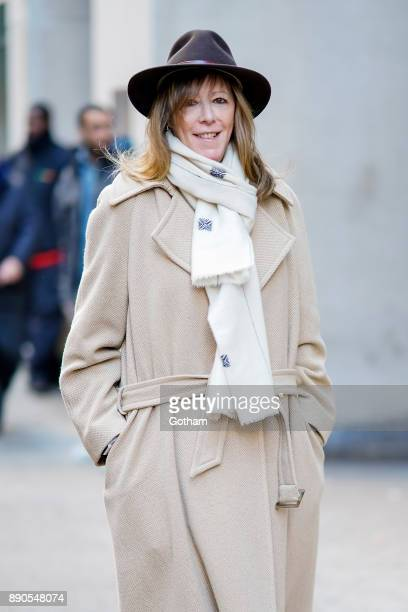 Jane Rosenthal is seen in Midtown on December 11 2017 in New York City